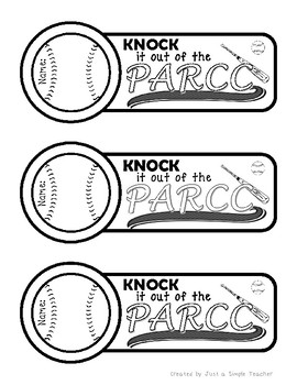 PARCC Testing Encouragement Pack- Song, Bookmarks