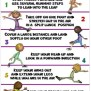 Pe Poster Leaping Cues By Cap N Pete S Power Pe Tpt