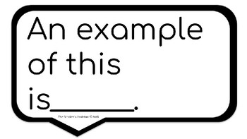 PEAL Paragraph Sentence Starters and Rubric by The Scholar