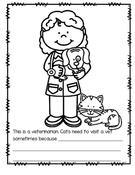 Cats Theme Literacy and Math Activities, Printables and