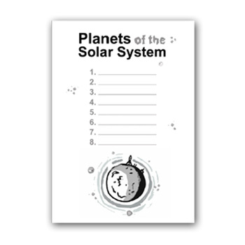 PLANETS and NAMES worksheets ( SOLAR SYSTEM ) by SPACE