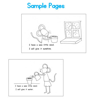 PLANTS Seeds Printable Book Guided Reading Plant needs