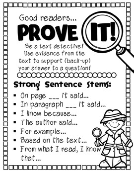 PROVE IT! Citing Text Evidence Like a Text Detective by