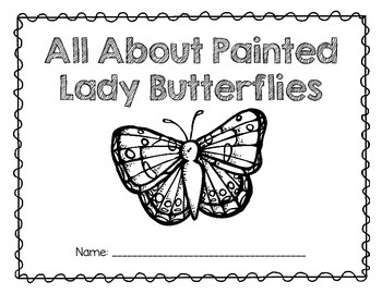 Painted Lady Butterflies: A Research and Writing Unit by