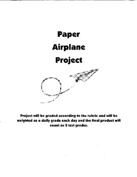 Paper Airplane Project (Great last online learning project