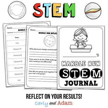 Paper Plate Marble Run STEM Activity + TpT Digital