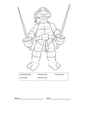 Parts Of Speech Coloring Page Teaching Resources