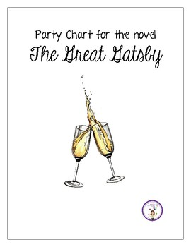 Party Chart for the novel The Great Gatsby (Free) by