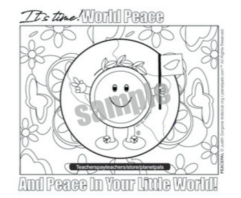Peace Pal© It's Time For Peace Love and Understanding