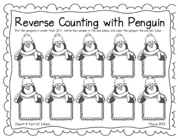 Penguin Fun! {Math & Literacy Common Core Centers} by