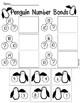 Penguin Math- Cut & Paste Number Bonds- Winter Activity by