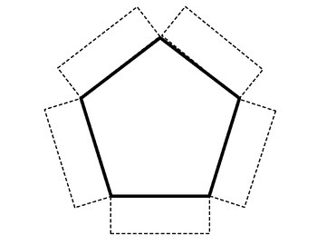 **FREEBIE** Pentagon Foldable Template by It All Adds Up