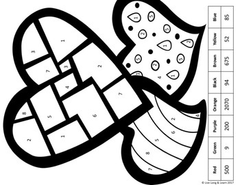 Percent Proportion Word Problems Coloring Activity by Live