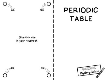 Periodic Table: Science Mystery Picture by Mata Math and