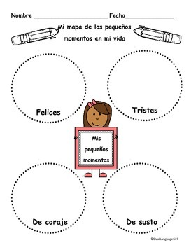 Personal Narrative Writing Unit (Spanish) by Dual Language