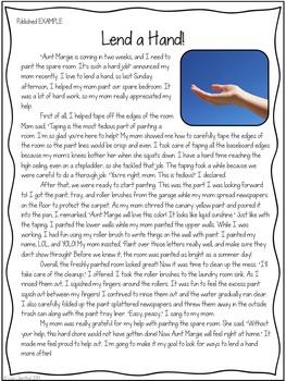 Personal Narrative Writing by Lisa Lilienthal  Teachers Pay Teachers
