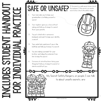 Personal Safety Classroom Guidance Lesson for Elementary