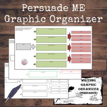 Persuasive Writing Graphic Organizer by Innovative Teacher