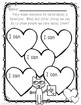 Pete the Cat Valentine's Day is Cool! by The Learning