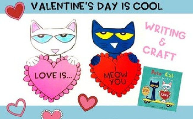 Pete The Cat Valentine S Day Is Cool By Pre K 4 Days Tpt