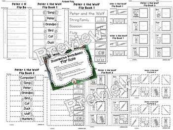 Peter and the Wolf Interactive Worksheets by TrinityMusic
