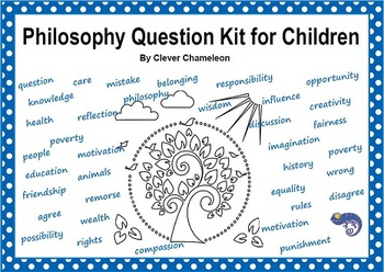 Philosophy Questions Kit Printable  78 Question Cards