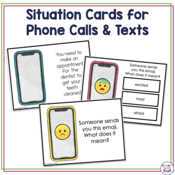Phone A Friend! Communication Skills Activity by Jenn