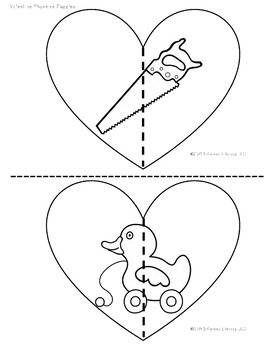 Phoneme Puzzles- Valentine's Day Edition by Informed