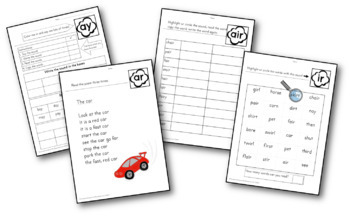 {Phonics Poems} {phonics intervention} {fluency poems} by
