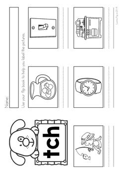 Phonics Flip Books: digraphs, r-controlled vowels, vowel