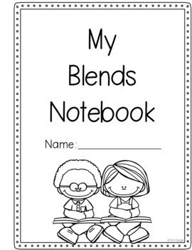 Phonics Notebook: Two- and Three-Letter Beginning