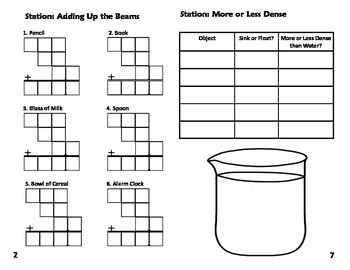 Physical Properties Stations: Mass, Volume, Length and