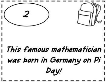Pi Day Scavenger Hunt {Pi Day Activity Middle School}{Pi