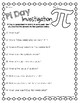 Pi Day Investigation Activity *Freebie* by To the Square