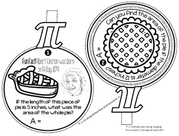 Pi Day Pennant Activity for Middle School by Scaffolded