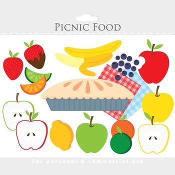 picnic fruit clipart - food clip