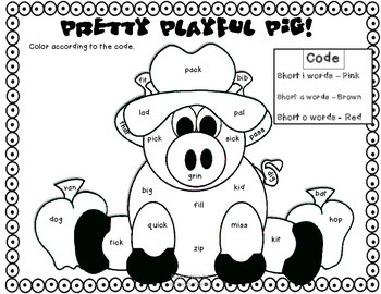 Pig in a Wig Reading Street 1st Grade CCSS by Second
