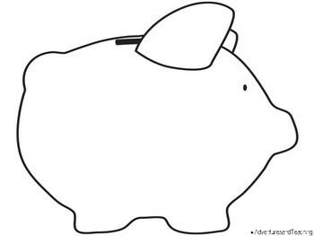 Piggy Bank Money Craftivity {Craftivity} by Adventures and