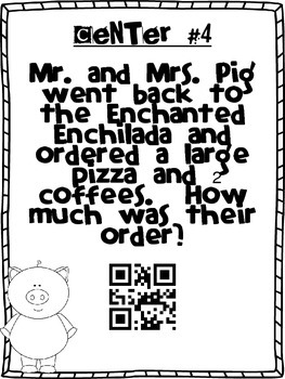 Pigs Will Be Pigs Money Word Problem Activities 2.MD.8 by