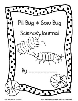 Pill Bugs and Sow Bugs for Kindergarten Science by