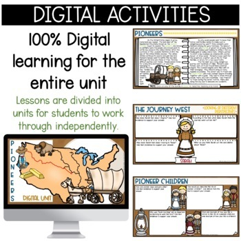 Pioneers: Pioneer-themed math and ELA common core learning