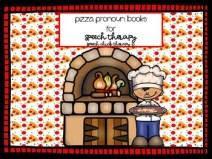 Pizza Pronoun Books for Speech Therapy