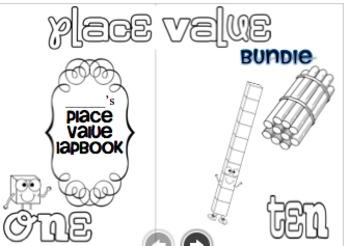 Place Value Lapbook for the Common Core Classroom (NBT.1