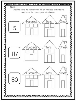 Place Value Math Centers (Common Core Aligned) by Miss