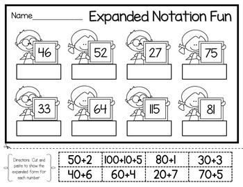 Place Value Practice: Activities, Games, and Printables by