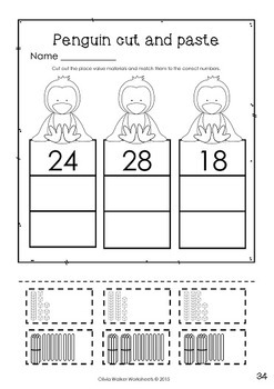 Place Value Worksheets / Printables / Bundle by Olivia