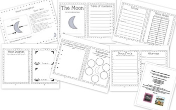 Planet Investigations and Mini Books by First Grade Lyons