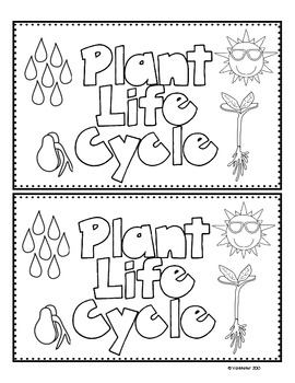 Plant Life Cycle Emergent Reader (Freebie) by Mrs VanMeter
