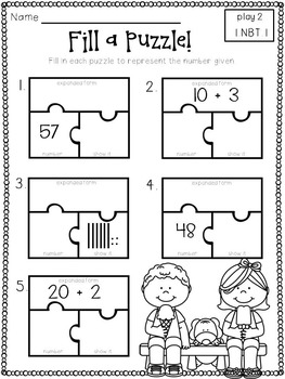 Play-Practice-Prove! First Grade Common Core: Number and
