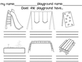 Playground Scavenger Hunt Worksheets & Teaching Resources